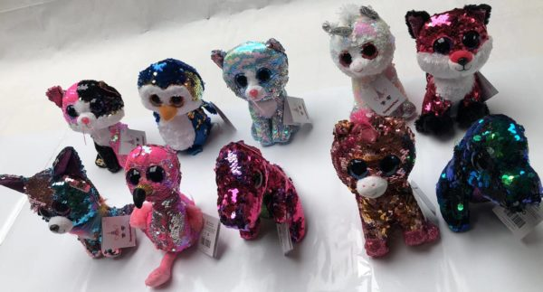 Assortment of Animal soft Toy Sequence