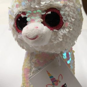 Sequin Unicorn Kids Soft Toy