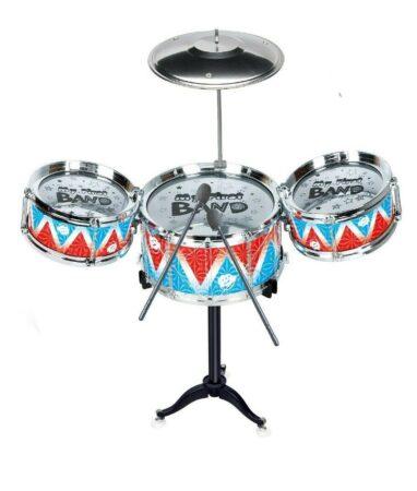 3 drums kids musical instrument play set