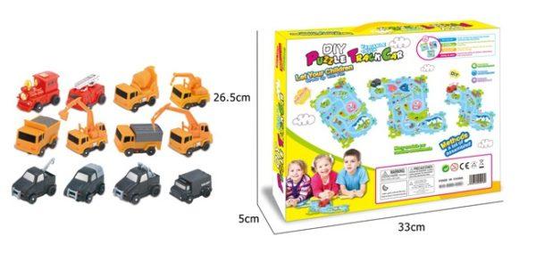 DIY Puzzle toy Car Track