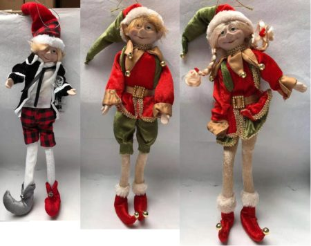 Christmas decoration Elf toy